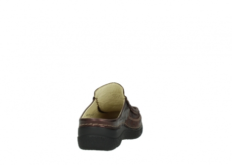 wolky clogs 06202 roll slide 10333 mocca metallic nubuk_8