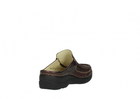 wolky clogs 06202 roll slide 10333 mocca metallic nubuk_9