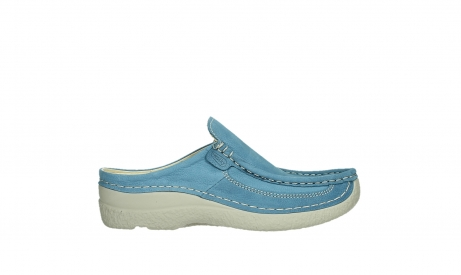 wolky clogs 06202 roll slide 11856 baltic blue nubuck_1