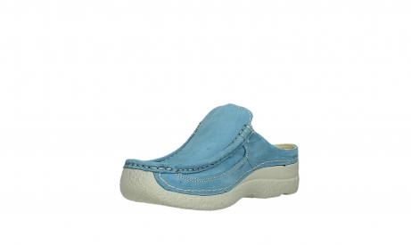 wolky clogs 06202 roll slide 11856 baltic blue nubuck_10