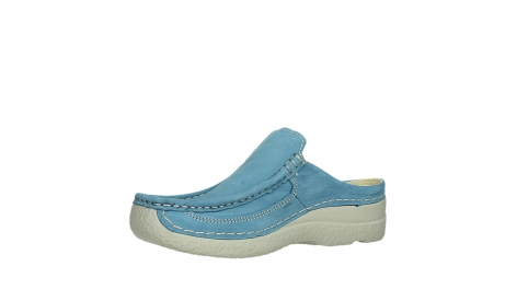 wolky clogs 06202 roll slide 11856 baltischblau nubuck_11