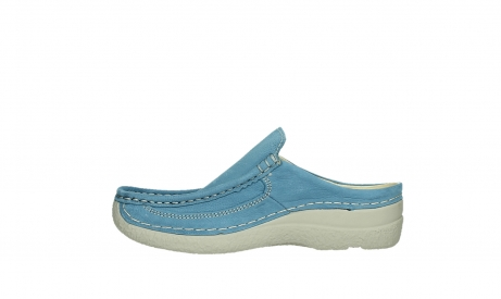 wolky clogs 06202 roll slide 11856 baltischblau nubuck_13