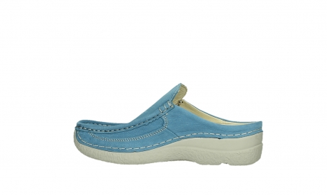 wolky clogs 06202 roll slide 11856 baltischblau nubuck_14