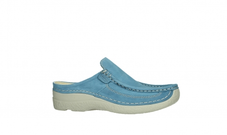 wolky clogs 06202 roll slide 11856 baltic blue nubuck_2