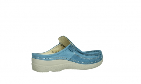 wolky clogs 06202 roll slide 11856 baltic blue nubuck_23
