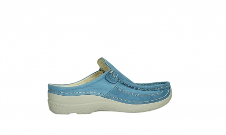wolky clogs 06202 roll slide 11856 baltischblau nubuck_24