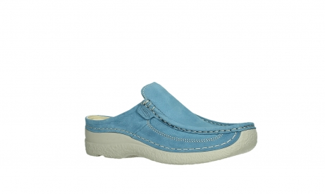wolky clogs 06202 roll slide 11856 baltic blue nubuck_3