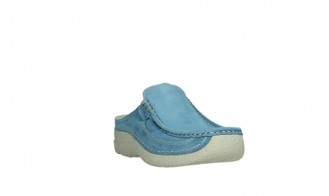 wolky clogs 06202 roll slide 11856 baltic blue nubuck_5