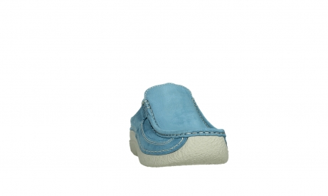 wolky clogs 06202 roll slide 11856 baltischblau nubuck_6