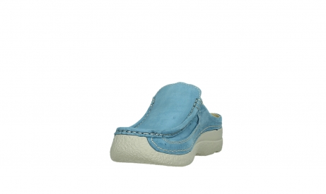wolky clogs 06202 roll slide 11856 baltischblau nubuck_9