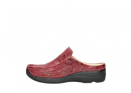 wolky clogs 06202 roll slide 12530 bordeaux leder_1