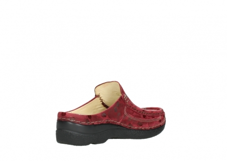 wolky clogs 06202 roll slide 12530 bordeaux leder_10