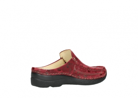 wolky clogs 06202 roll slide 12530 bordeaux leder_11