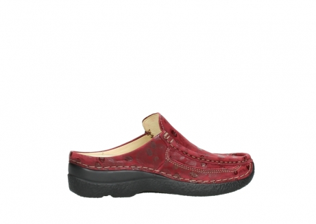 wolky clogs 06202 roll slide 12530 bordeaux leder_12