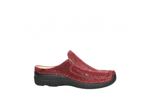 wolky clogs 06202 roll slide 12530 bordeaux leder_14