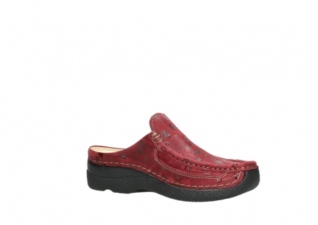 wolky clogs 06202 roll slide 12530 bordeaux leder_15