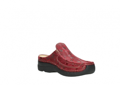 wolky clogs 06202 roll slide 12530 bordeaux leder_16