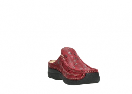 wolky clogs 06202 roll slide 12530 bordeaux leder_17