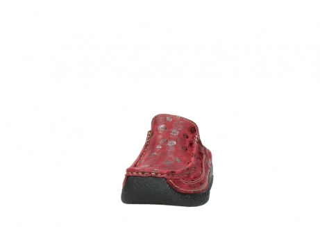 wolky clogs 06202 roll slide 12530 bordeaux leder_20