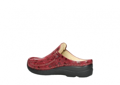 wolky clogs 06202 roll slide 12530 bordeaux leder_3