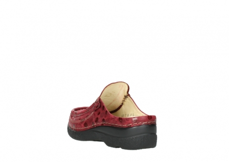 wolky clogs 06202 roll slide 12530 bordeaux leder_5