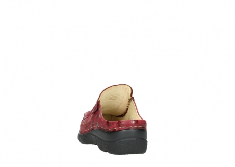 wolky clogs 06202 roll slide 12530 bordeaux leder_6