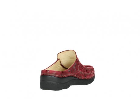 wolky clogs 06202 roll slide 12530 bordeaux leder_9
