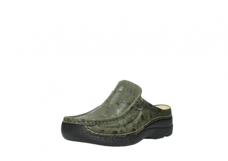 wolky clogs 06202 roll slide 12730 forestgreen nubuck_22