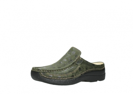 wolky clogs 06202 roll slide 12730 forestgreen nubuck_23