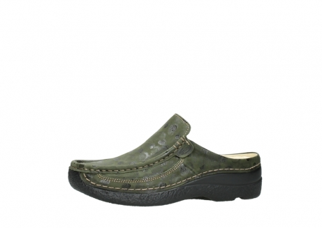 wolky clogs 06202 roll slide 12730 forestgreen nubuck_24