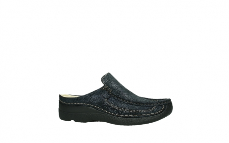 wolky clogs 06202 roll slide 43800 blue metal suede_24