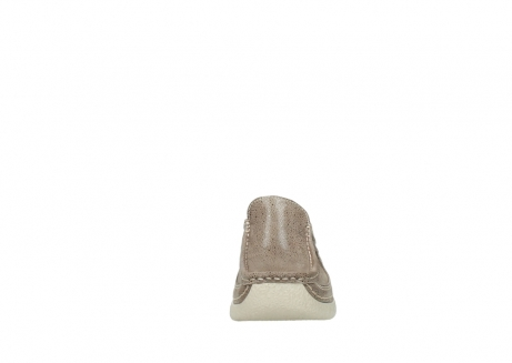 wolky clogs 06202 roll slide 90150 taupe dots nubuck_19