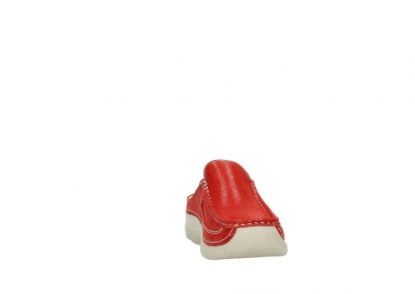 wolky clogs 06202 roll slide 90570 rot dots nubuck_18