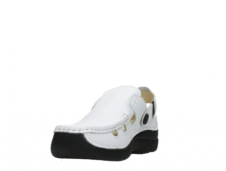 wolky clogs 06220 roll multi 70100 white printed leather_9