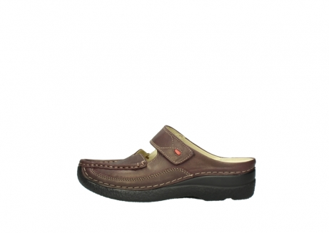 wolky klompen 06227 roll slipper 10620 bordeaux metallic gemeleerd leer_1
