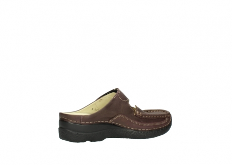 wolky klompen 06227 roll slipper 10620 bordeaux metallic gemeleerd leer_11