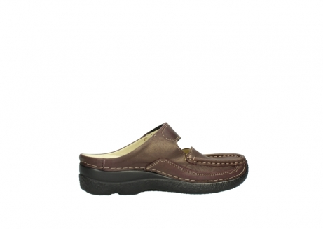 wolky klompen 06227 roll slipper 10620 bordeaux metallic gemeleerd leer_12