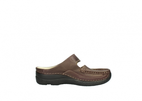 wolky klompen 06227 roll slipper 10620 bordeaux metallic gemeleerd leer_13