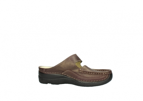 wolky klompen 06227 roll slipper 10620 bordeaux metallic gemeleerd leer_14