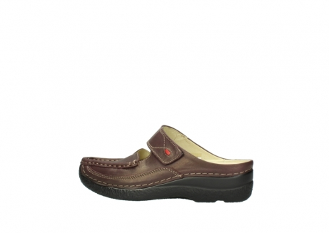 wolky klompen 06227 roll slipper 10620 bordeaux metallic gemeleerd leer_2