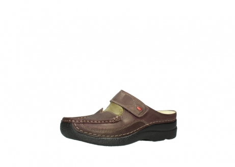 wolky klompen 06227 roll slipper 10620 bordeaux metallic gemeleerd leer_23