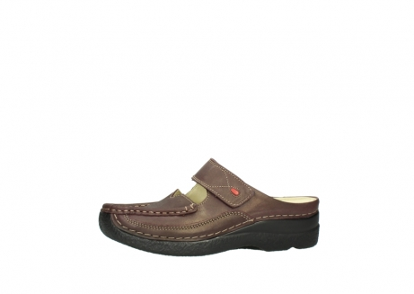 wolky klompen 06227 roll slipper 10620 bordeaux metallic gemeleerd leer_24