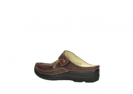 wolky klompen 06227 roll slipper 10620 bordeaux metallic gemeleerd leer_3