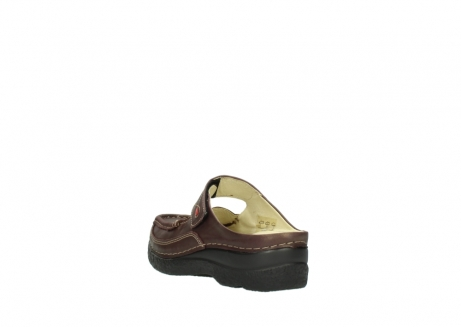 wolky klompen 06227 roll slipper 10620 bordeaux metallic gemeleerd leer_5