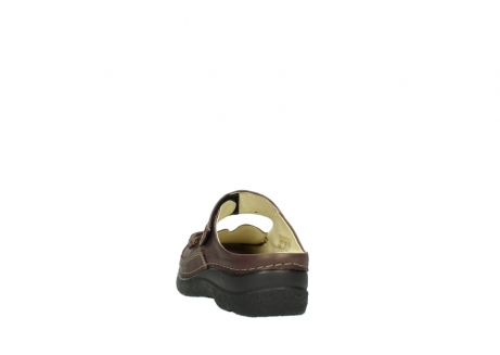 wolky klompen 06227 roll slipper 10620 bordeaux metallic gemeleerd leer_6