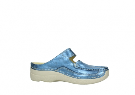 wolky clogs 06227 roll slipper 10870 blau nubukleder_14
