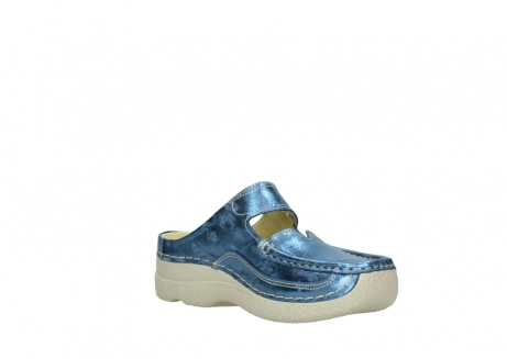 wolky clogs 06227 roll slipper 10870 blau nubukleder_16