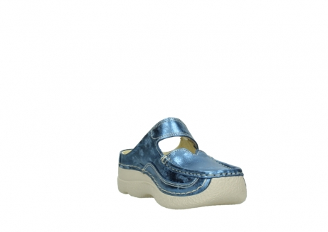 wolky clogs 06227 roll slipper 10870 blau nubukleder_17
