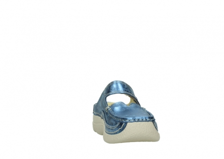 wolky clogs 06227 roll slipper 10870 blau nubukleder_18
