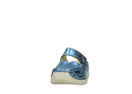 wolky clogs 06227 roll slipper 10870 blau nubukleder_20